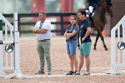 Philippaerts Nicola, BEL, Chilli Willi, Philippaerts Ludo, BEL, Philippaerts Olivier, BEL<br /> World Equestrian Games - Tryon 2018<br /> © Hippo Foto - Sharon Vandeput<br /> 20/09/2018