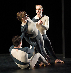 Nearly Ninety<br /> The Merce Cunningham Dance Company <br /> choreography by Merce Cunningham<br /> at The Barbican Theatre, London, Great Britain <br /> rehesrsal <br /> 26th October 2010 <br /> <br /> <br /> Silas Riener<br /> Jamie Scott<br /> John Hinrichs<br /> <br /> <br /> <br /> <br /> <br /> Photograph by Elliott Franks<br /> 2010©Elliott Franks