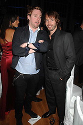 Left to right, RICKY WILSON and JAMES BLUNT at the 10th annual GQ Men of the Year Awards held at the Royal Opera House, Covent Garden, London on 4th September 2007.<br /><br />NON EXCLUSIVE - WORLD RIGHTS