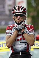 Sykkel<br /> Tour de France 2003<br /> Foto: Digitalsport<br /> <br /> NORWAY ONLY<br /> <br /> CYCLING - TOUR DE FRANCE 2003 - STEP16 - PAU > BAYONNE - 23072003 - PHOTO: JULIEN CROSNIER / DPPI<br /> TYLER HAMILTON (USA) / TEAM CSC