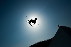 February 18, 2018 - Pyeongchang, South Korea - OSCAR WESTER of Sweden competes in the Mens Ski Slopestyle competition Sunday, February 18, 2018 at Phoenix Snow Park at the Pyeongchang Winter Olympic Games.  Photo by Mark Reis, ZUMA Press/The Gazette (Credit Image: © Mark Reis via ZUMA Wire)