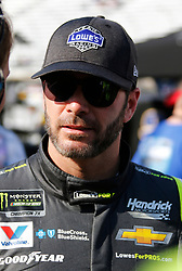 April 13, 2018 - Bristol, TN, U.S. - BRISTOL, TN - APRIL 13:  #48: Jimmie Johnson, Hendrick Motorsports, Chevrolet Camaro Lowe's for Pros during practice for the 58th annual Food City 500 on April 13, 2018 at Bristol Motor Speedway in Bristol, Tennessee (Photo by Jeff Robinson/Icon Sportswire) (Credit Image: © Jeff Robinson/Icon SMI via ZUMA Press)