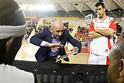 DESCRIZIONE : Roma Lega A 2011-12 Acea Virtus Roma Scavolini Siviglia Pesaro<br /> GIOCATORE : Luca Dalmonte<br /> CATEGORIA : coach time out<br /> SQUADRA : Scavolini Siviglia Pesaro<br /> EVENTO : Campionato Lega A 2011-2012<br /> GARA : Acea Virtus Roma Scavolini Siviglia Pesaro<br /> DATA : 11/01/2012<br /> SPORT : Pallacanestro<br /> AUTORE : Agenzia Ciamillo-Castoria/ElioCastoria<br /> Galleria : Lega Basket A 2011-2012<br /> Fotonotizia : Roma Lega A 2011-12 Acea Virtus Roma Scavolini Siviglia Pesaro<br /> Predefinita :