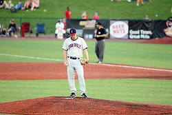 11 July 2012:  Eric Massingham (Evansville Otters) during the Frontier League All Star Baseball game at Corn Crib Stadium on the campus of Heartland Community College in Normal Illinois