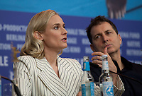 Actress Diane Kruger and Director Yuval Adler at the press conference for the film The Operative (Die Agentin) at the 69th Berlinale International Film Festival, on Sunday 10th February 2019, Hotel Grand Hyatt, Berlin, Germany.