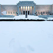 Kansas City's Nelson Atkins Museum of Art after a February snowstorm.