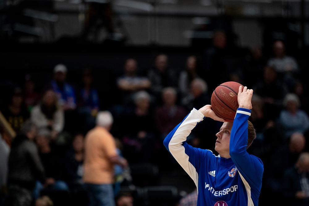 ÖSTERSUND 20210924<br /> Jämtlands John Pålsson under fredagens match i Basketligan mellan Jämtland Basket och Nässjö Basket i Östersunds Sporthall<br /> <br /> Foto: Per Danielsson/Projekt.P