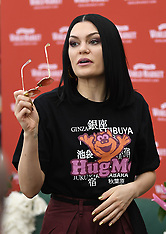 Jessie J arrives for a meet and greet in LA with her fans to promote her new Christmas - 03 Nov 2018