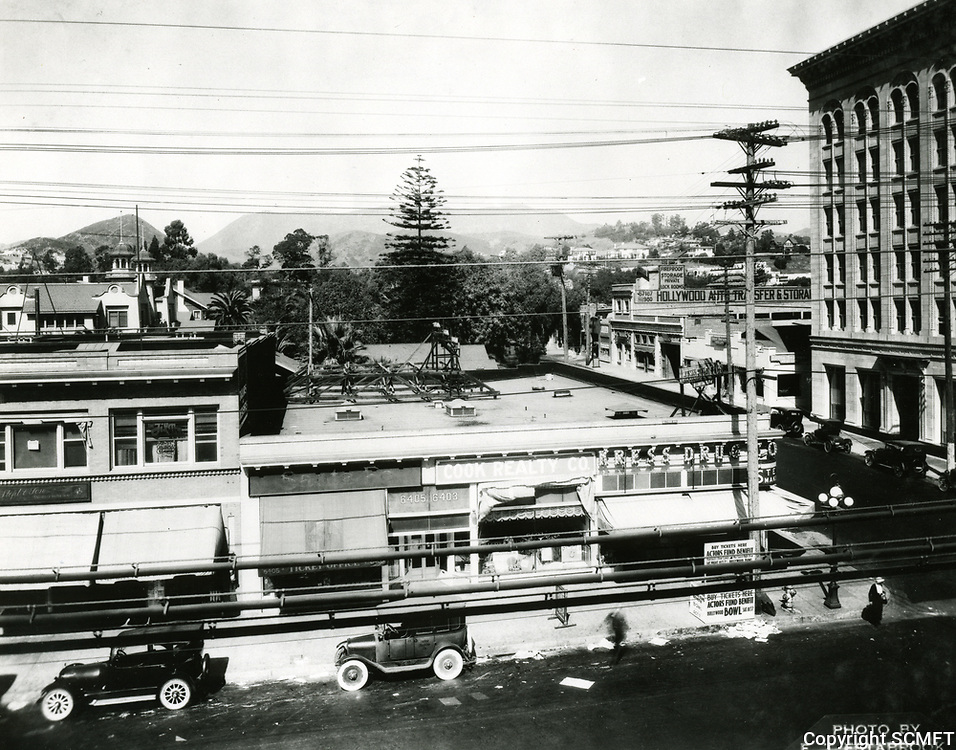 1922 Hollywood Blvd. just west of Cahuenga Ave.
