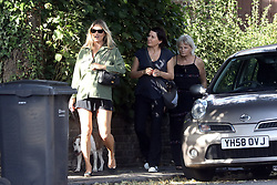 EXCLUSIVE: Kate emerges from a North London pub calling back to a pirate with a parrot on his shoulder... Not johnny Depp. Kate was joined on a dog walk/pub visit with Sadie Frost and her Mum Mary Davidson. 21 Jul 2020 Pictured: Kate Moss Sadie Frost Mary Davidson. Photo credit: MEGA TheMegaAgency.com +1 888 505 6342