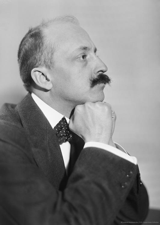 Filippo Tommaso Marinetti, Italian Playwright and  Poet, 1912