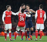 231116 Arsenal v Paris Saint-Germain