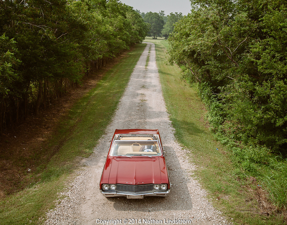 Vintage Buick.<br /> Photographed by editorial photographer Nathan Lindstrom