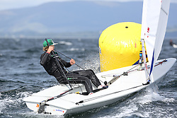 Day 4 NeilPryde Laser National Championships 2014 held at Largs Sailing Club, Scotland from the 10th-17th August.<br /> <br /> 204975, Haydn GRIFFITHS<br /> <br /> Image Credit Marc Turner