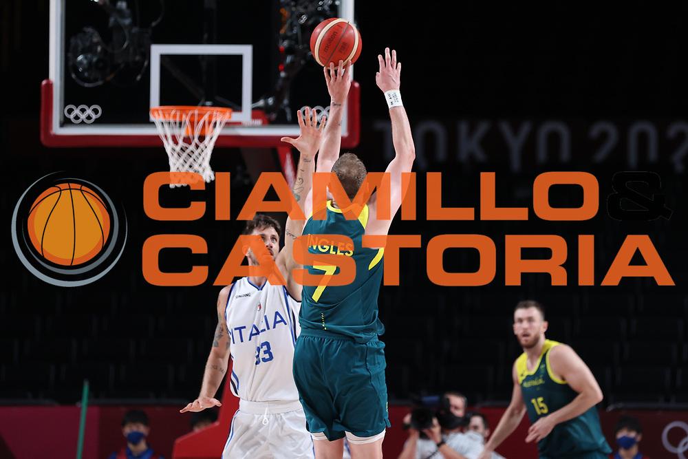 Ingles Joe<br /> Italia Italy - Australia Australia<br /> Olimpiadi Estive Tokyo 2020 - Fase a Gironi<br /> 2020 Summer Olympic Games - Group Phase<br /> Tokyo, 28/07/2021<br /> Foto A.Mehryar / Ciamillo-Castoria