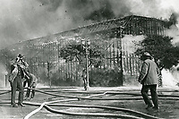 1926 Fire at Century Film Co. on Sunset Blvd.
