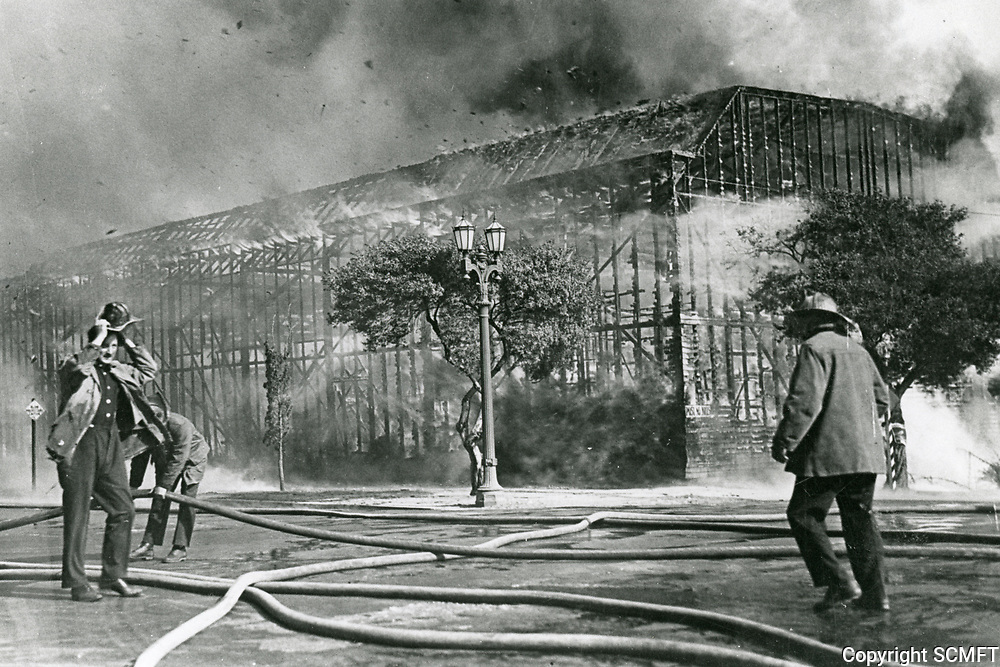 1926 Fire at Century Film Co. on Sunset Blvd.