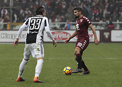 February 18, 2018 - Turin, Italy - Tomas Rincon during the Serie A match between Torino FC and Juventus at Stadio Olimpico di Torino on February 18, 2018 in Turin, Italy. (Credit Image: © Loris Roselli/NurPhoto via ZUMA Press)