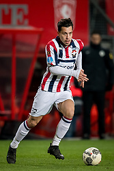 Thom Haye of Willem II during the Dutch Eredivisie match between FC Twente Enschede and Willem II Tilburg at the Grolsch Veste on March 17, 2018 in Enschede, The Netherlands