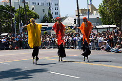 California: San Francisco Carnaval festival parade in the Mission District. Photo copyright Lee Foster. Photo # 30-casanf81182