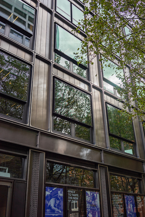 Contemporary architecture in Museum Street, Bloomsbury, London, UK