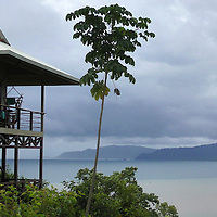 Central America, Costa Rica, Drake Bay. Drake Bay Getaway Resort, a luxury boutique hotel.
