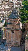 Tomb of Absalom (Yad Avshalom; literally Absalom's Memorial ), also called Absalom's Pillar, is an ancient monumental rock-cut tomb with a conical roof located in the Kidron Valley in Jerusalem.