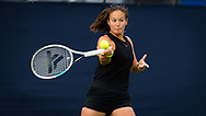 Daria Kasatkina of Russia in action against Vera Zvonariova of Russia during the first round at the 2021 Viking International WTA 500 tennis tournament on June 22, 2021 at Devonshire Park Tennis in Eastbourne, England - Photo Rob Prange / Spain ProSportsImages / DPPI / ProSportsImages / DPPI
