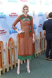 Peter Rabbit Premiere - Los Angeles. 03 Feb 2018 Pictured: Elizabeth Debicki. Photo credit: Jaxon / MEGA TheMegaAgency.com +1 888 505 6342