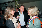 SABRINA GUINNESS; DAVID JENKINS; ROSIE BOYCOTT, Party for Perfect Lives by Polly Sampson. The 20th Century Theatre. Westbourne Gro. London W11. 2 November 2010. -DO NOT ARCHIVE-© Copyright Photograph by Dafydd Jones. 248 Clapham Rd. London SW9 0PZ. Tel 0207 820 0771. www.dafjones.com.