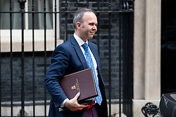 © Licensed to London News Pictures. 10/10/2018. London, UK. Downing Street Chief of Staff Gavin Barwell leaves No 10 Downing Street. Photo credit : Tom Nicholson/LNP