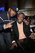 """Brandon Lewis and Butch Lewis at """" The P. Diddy presents Bad Boy Entertainment Night """" at Spotlight NYC featuring performances by Cherri Dennis and Vanity Kane on January 29, 2008"""