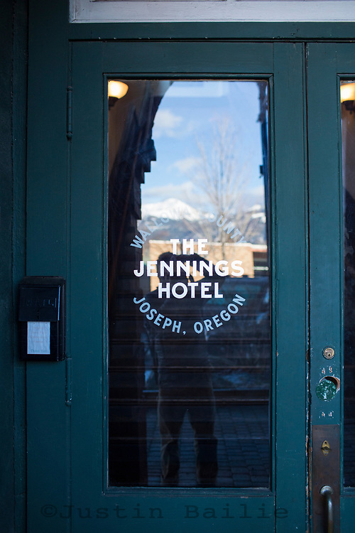 Jennings Hotel in Joseph, Oregon.