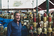 Armenian man at the market in Stepanakert, Nagorno-Karabakh<br /><br />(September 22, 2016)