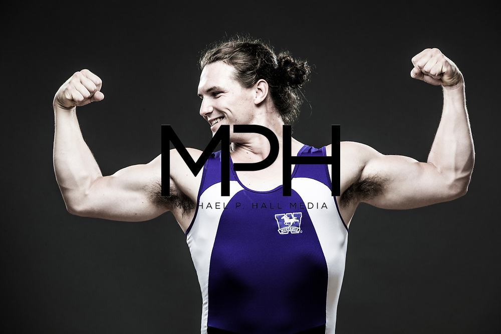 Portraits of Western University student-athletes for Ontario University Athletics on  August 16, {year}. (Michael P. Hall/@mphcentral)