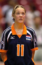 18-06-2000 JAP: OKT Volleybal 2000, Tokyo<br /> Nederland - China 3-0 / Kitty Sanders