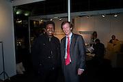 ALFRED DERSAUD JNR; GUY NICHOLSON, FashionExpo, fashion show and Awards. Business Design Centre, Upper st. London. 19 November 2008.  *** Local Caption *** -DO NOT ARCHIVE -Copyright Photograph by Dafydd Jones. 248 Clapham Rd. London SW9 0PZ. Tel 0207 820 0771. www.dafjones.com