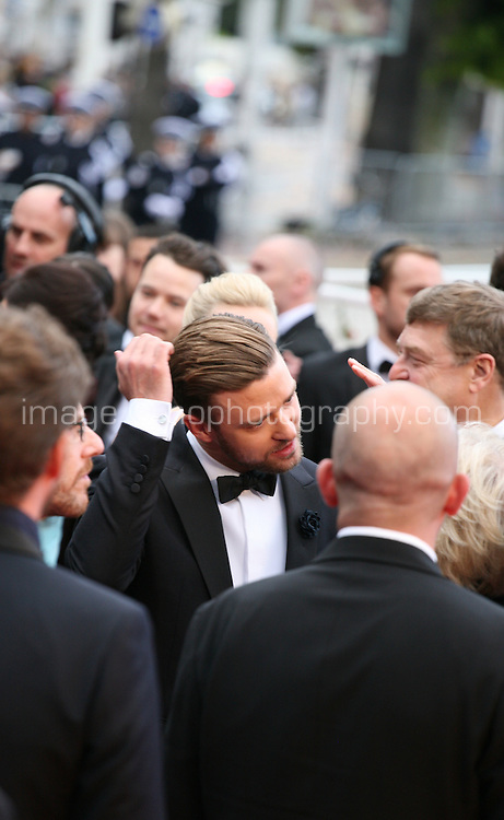 Justin Timberlake.at the The Coen brother's new film 'Inside Llewyn Davis' red carpet gala screening at the Cannes Film Festival Sunday 19th May 2013