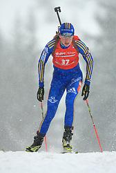 Helena Jonsson (SWE) at Women 15 km Individual at E.ON Ruhrgas IBU World Cup Biathlon in Hochfilzen (replacement Pokljuka), on December 18, 2008, in Hochfilzen, Austria. (Photo by Vid Ponikvar / Sportida)