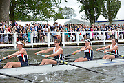 Henley, GREAT BRITAIN.  Remenham Challenge Cup .  Av. Grenoblois and Toulouse AV. , FRA. during their Friday heat.  2012 Henley Royal Regatta. ..Friday  16:49:23  29/06/2012. [Mandatory Credit, Peter Spurrier/Intersport-images]...Rowing Courses, Henley Reach, Henley, ENGLAND . HRR.