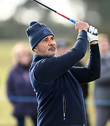 Ruud Gullit during day two of the Alfred Dunhill Links Championship at Carnoustie. Picture date: Friday October 1, 2021.