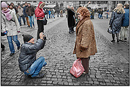 SERIES - DAY-TRIPPER PRAGUE by Paul Williams - Day Tripper Prague is a selecvtive colour street photography series by photographer Paul Williams  of tourists visiting Prague at Christmas  2007