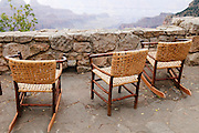 A wonderful place to view the Grand Canyon. These chairs are just waiting for you. Missoula Photographer