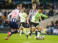 Football - 2016 / 2017 FA Cup - Third Round: Millwall vs. AFC Bournemouth<br /> <br /> Lys Mousset of Bournemouth attacks , at The Den.<br /> <br /> COLORSPORT/WINSTON BYNORTH