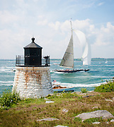 The J Class yachts are breathtaking in their grandeur and classic beauty.  In 2011 Newport Harbor played host to a J Class rendezvous which could be watched from the nearby Castle Hill Lighthouse at the harbor's entrance.