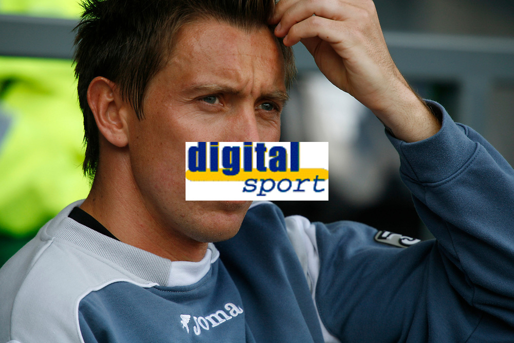 Photo: Steve Bond.<br />Derby County v Coventry City. Coca Cola Championship. 09/04/2007. Darren Currie on the subs bench