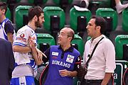 DESCRIZIONE : Campionato 2014/15 Serie A Beko Dinamo Banco di Sardegna Sassari - Grissin Bon Reggio Emilia Finale Playoff Gara4<br /> GIOCATORE : Matteo Formenti Carlo Sardara<br /> CATEGORIA : Fair Play Before Pregame<br /> SQUADRA : Dinamo Banco di Sardegna Sassari<br /> EVENTO : LegaBasket Serie A Beko 2014/2015<br /> GARA : Dinamo Banco di Sardegna Sassari - Grissin Bon Reggio Emilia Finale Playoff Gara4<br /> DATA : 20/06/2015<br /> SPORT : Pallacanestro <br /> AUTORE : Agenzia Ciamillo-Castoria/GiulioCiamillo