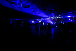 Guests enjoy the evening as Ministry of Sound's resident DJs Matt May and DJ Tim Cullen perform at the Old Skool Dance Classics event at Sandy Park - Ryan Hiscott/JMP - 16/11/2018 - SPORT - Sandy Park - Exeter, England - Ministry of Sound Old Skool Dance Classics with DJs Matt May and DJ Tim Cullen