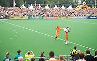 GRONINGEN  (Neth) - Hockey - RABO SUPER SERIE  <br /> Nederland v  Nieuw Zeeland (m). (4-2)  Vol stadion. overzicht  COPYRIGHT KOEN SUYK