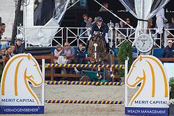 Bruynseels Niels, (BEL), Echo van T Spieveld<br /> Grans Prix CSI 5* -1<br /> Longines Global Champions Tour - Antwerp 2015<br />  © Hippo Foto - Dirk Caremans<br /> 25/04/15